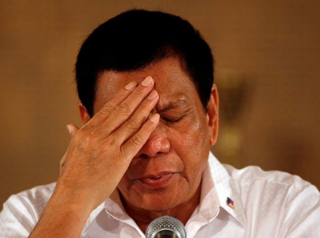 Philippine lawmaker files impeachment case against President Rodrigo Duterte