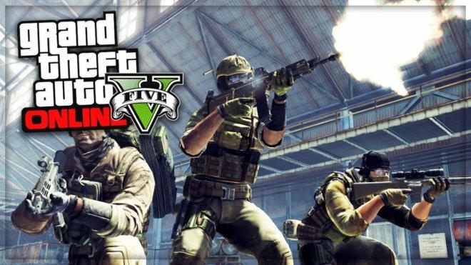 GTA 5 Online: Army DLC aka Gunrunning Military DLC