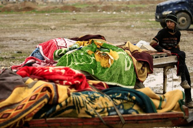 Iraqi children killed by air strikes as battle against Isis in Mosul intensifies