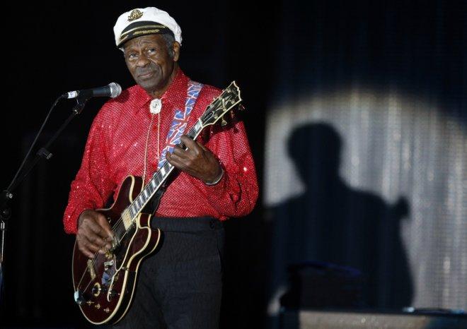 Legendary musician Chuck Berry dead at 90