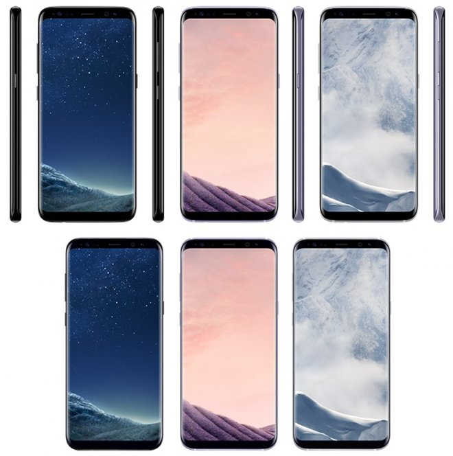 Galaxy S8 colour options