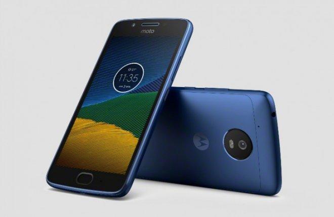 Moto G5 Blue leaked press image