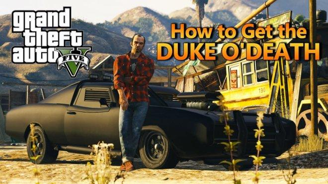 GTA 5 Duke O'Death early access cheat