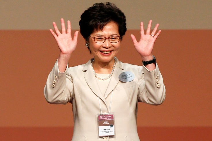 Carrie Lam elected as Hong Kong's first female Chief Executive
