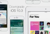iOS 10.3 downgrade