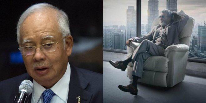 Najib Razak meets Rajnikanth