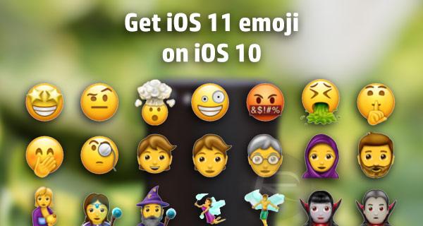 how to get iOS 11 emoji on iOS 10