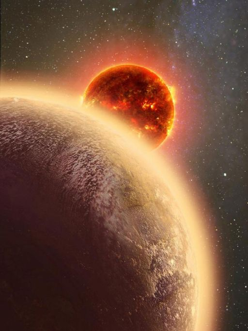 ESO detects atmosphere around the smallest exoplanet, GJ 1132b