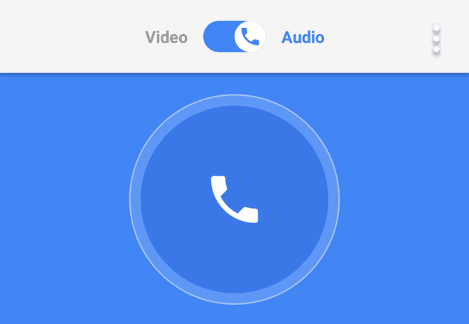 Google Duo gets audio