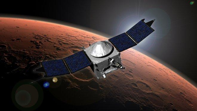 NASA's MAVEN spacecraft discovers metal in Mars upper atmosphere