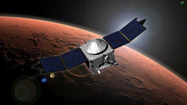 NASA's MAVEN spacecraft discovers metal in Mars upper atmosphere