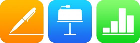 iWork iOS app