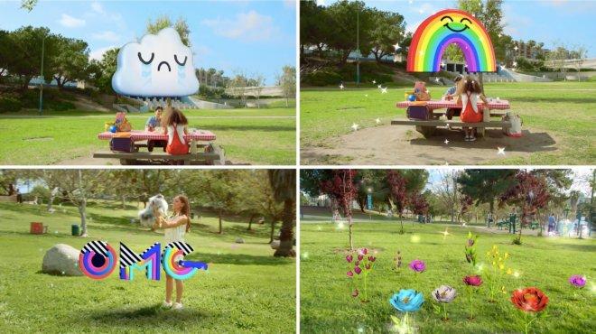 Snapchat 3D lenses
