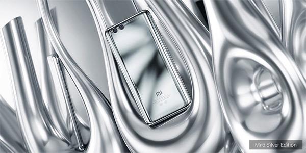 Mi 6 Limited Silver Edition