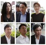 5 City Harvest Church leaders surrender, begin jail terms