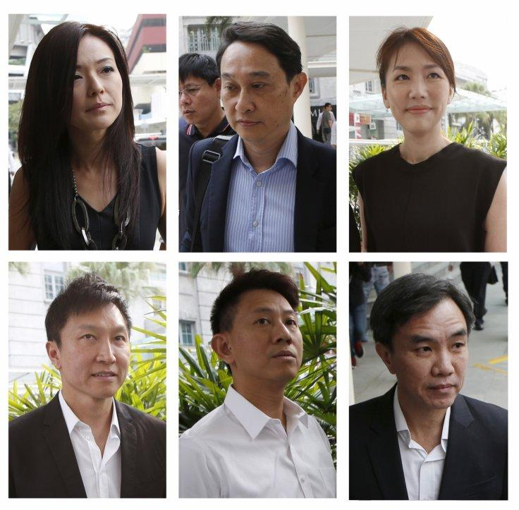 5 City Harvest Church leaders surrender, begin jail terms