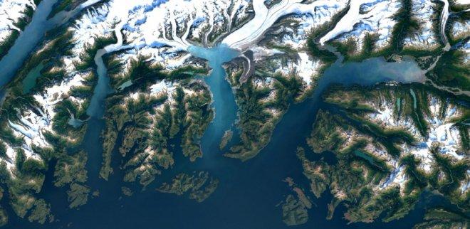 Google satellite imagery