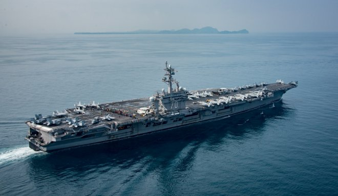 South Korea to hold joint drills with USS Carl Vinson carrier strike group
