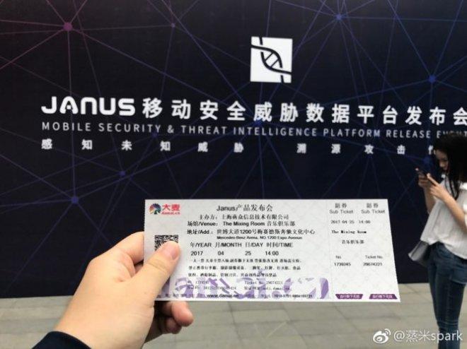 Janus conference ticket