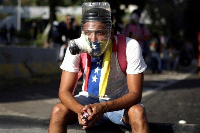 Protests against Venezuela's President Maduro
