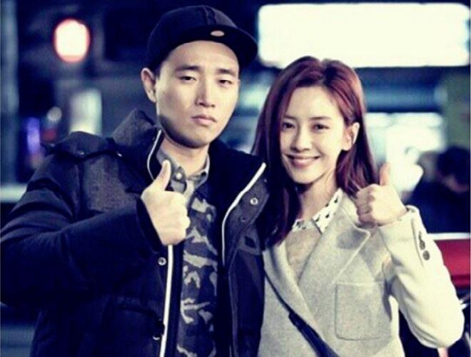 Song Ji Hyo and Gary Kang