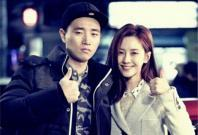 Song Ji Hyo and Gary Kang