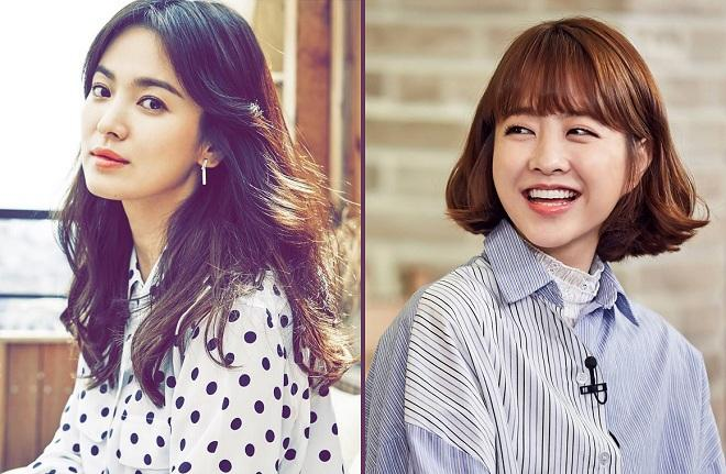Song Hye-kyo & Park Bo-young