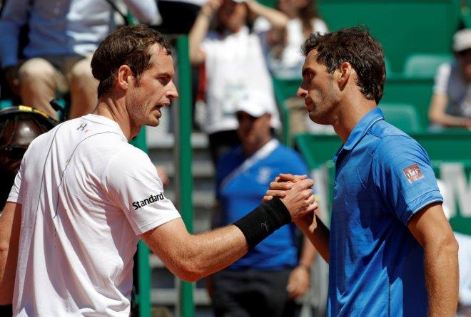 Andy Murray and Albert Ramos-Vinolas