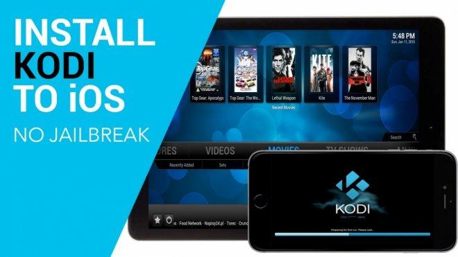Installing Kodi 18 on iOS without jailbreak