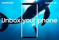 Galaxy S8 burnt-in pixels