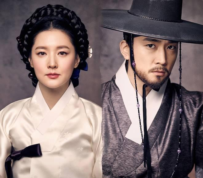 Lee Young-ae and Song Seung-heon