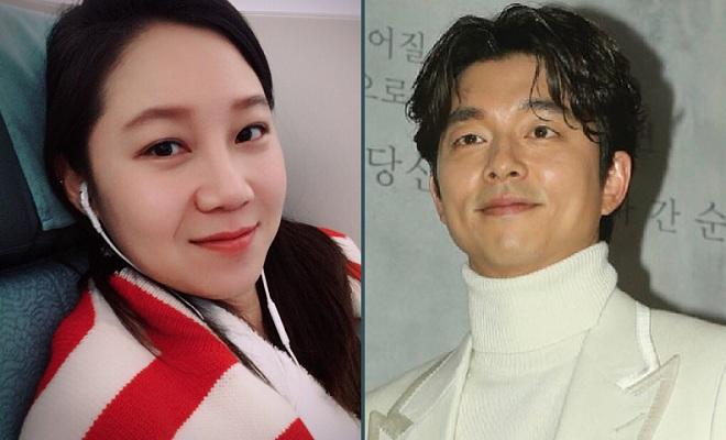 Gong Hyo-jin and Gong Yoo