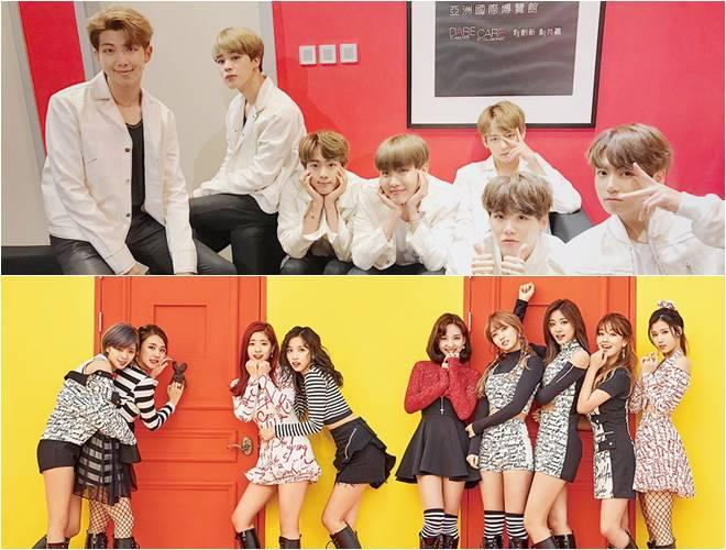 BTS, TWICE top brand reputation index for May