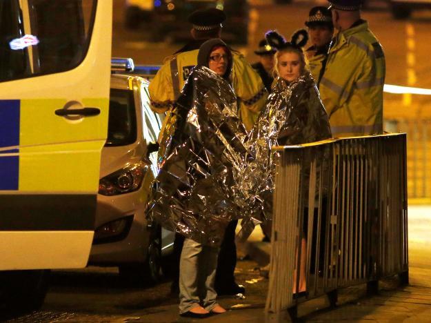 Ariana Grande Manchester concert blast