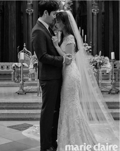 Wedding Korean Star: Kim So Yeon, Lee Sang Woo Look Absolutely Stunning In