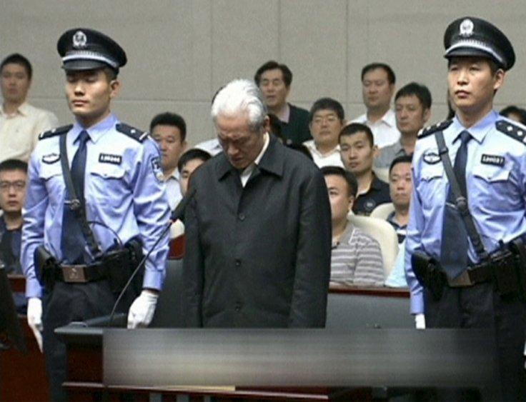 China sentences top official for corruption
