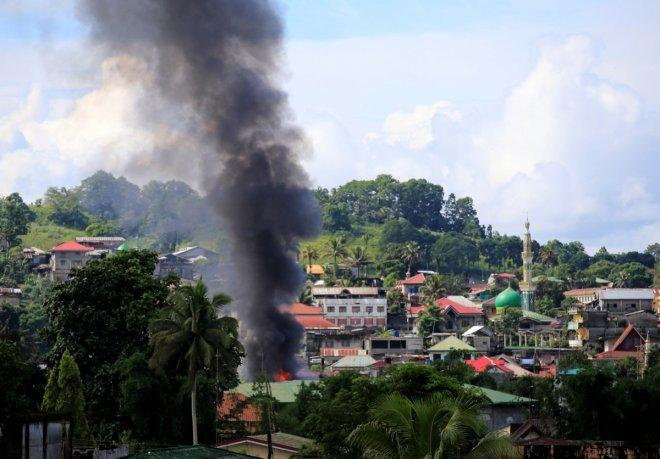 11 Philippine govt soldiers killed in military air strike on Marawi militants