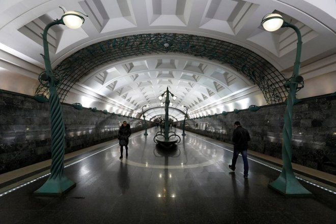 Moscow Metro's beautiful stations