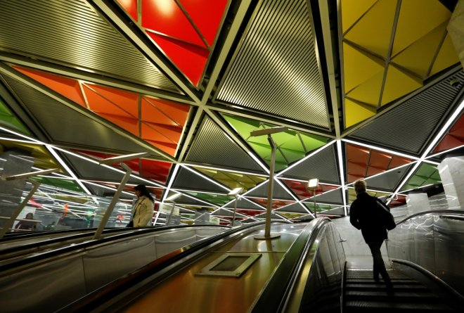 Moscow beautiful metro