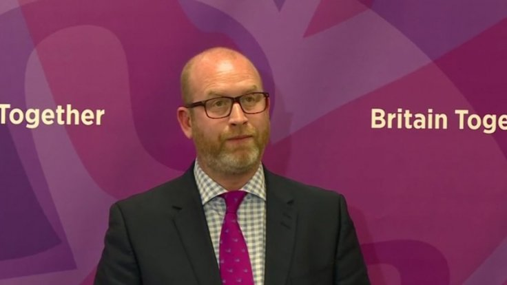 Islamist extremism is a cancer says Paul Nuttall, insists passports should be revoked