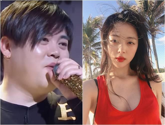 Moon Hee Jun and Sulli
