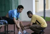 Lee Chong Wei and Misbun Sidek