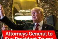 Attorneys General of Maryland, DC to sue over foreign payments to Trumps hotel