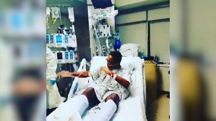 Teenager dances for joy after successful heart transplant