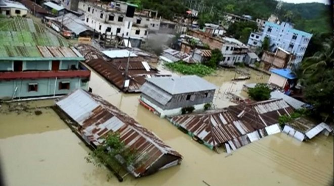 Heavy rainfall, landslides kill at least 156 in Bangladesh and India