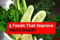 Five foods that improve mens health