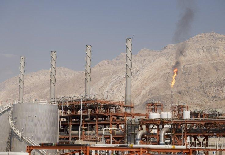 Gas field in Iran