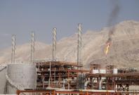 Gas field in Iran