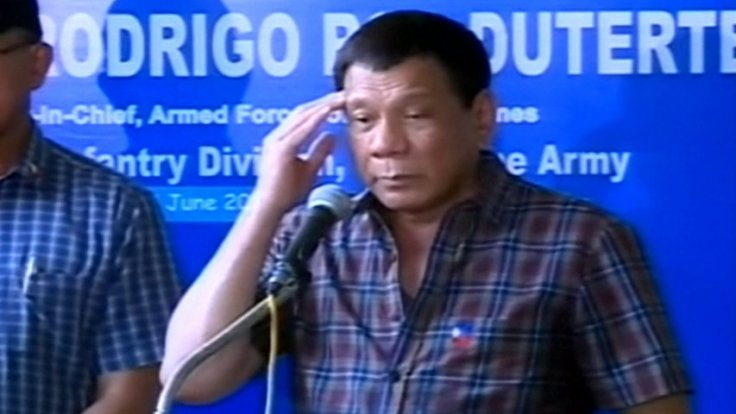 Philippine President Rodrigo Duterte insists he did not seek US support in fight against Isis militants