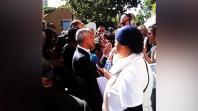 London Mayor Sadiq Khan gets hostile reception during visit to Grenfell Tower